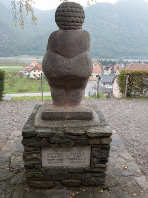 Willendorf-the memorial statue