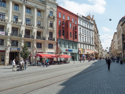 the centre of Brno