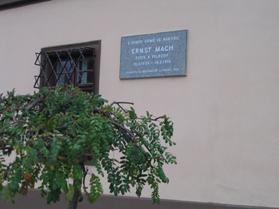 Brno-Chrlice, the birthplace of Ernst Mach